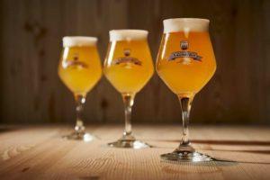 Drei Biere der Marke Forst